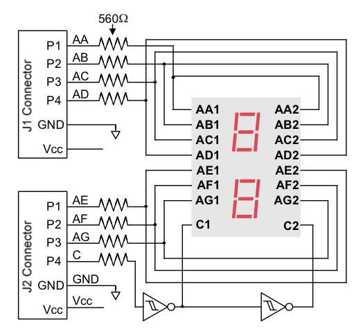 Tutorial 4: Driving the Seven Segment Display | Beyond Circuits