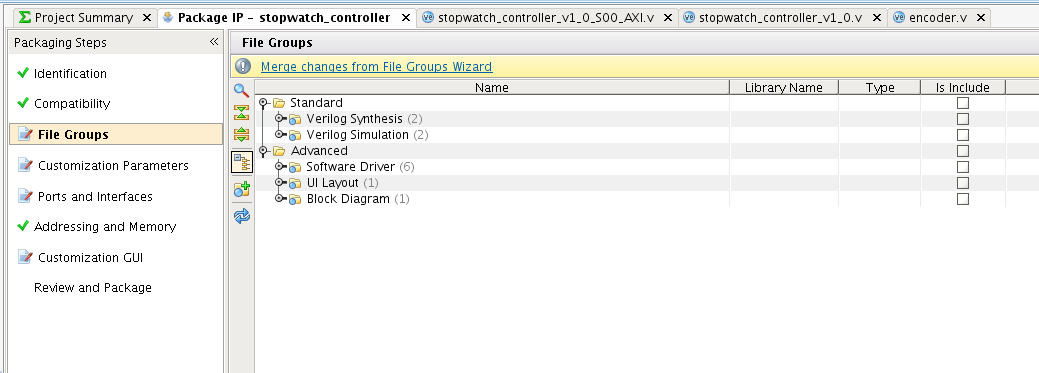 Tutorial 13: Creating an IP Component   Beyond Circuits