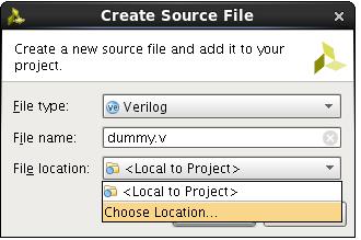 vivado simulation how to add file